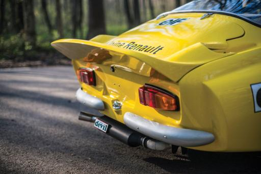 1965 Alpine-Renault A110 in Group 4 Rally Spec 9