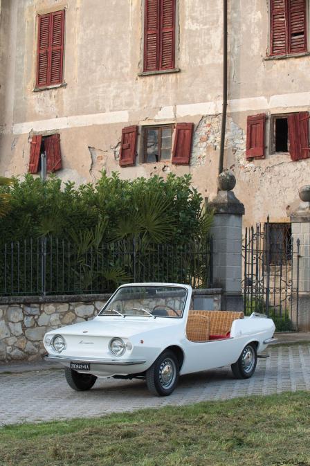 1970 Fiat 850 Spiaggetta by Michelotti 1