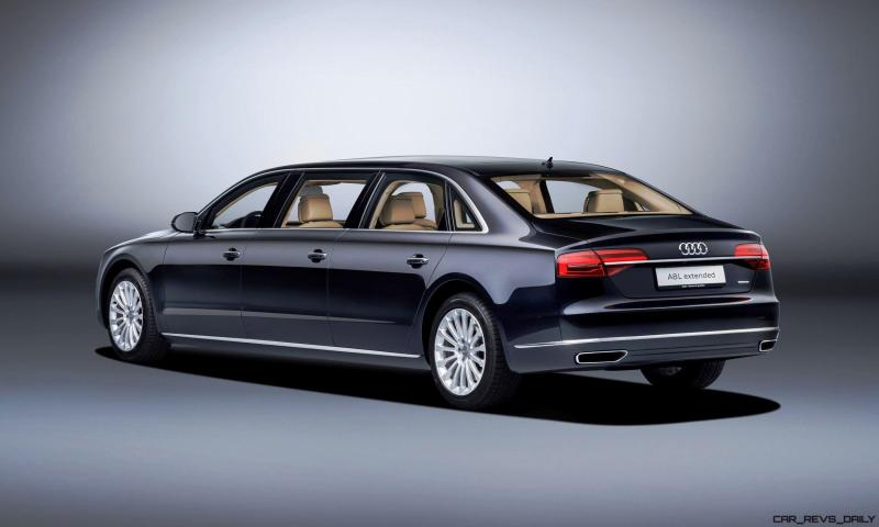 2016 Audi A8L Extended 2