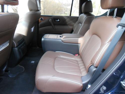 2016 INFINITI QX80 Limited AWD Interior 5