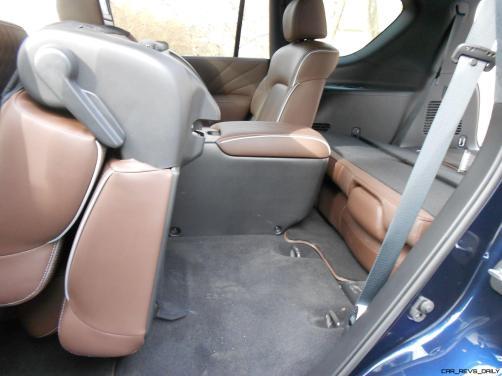 2016 INFINITI QX80 Limited AWD Interior 6