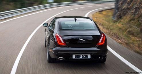 2016 Jaguar XJ Skyroad Paxi Expressway China 24