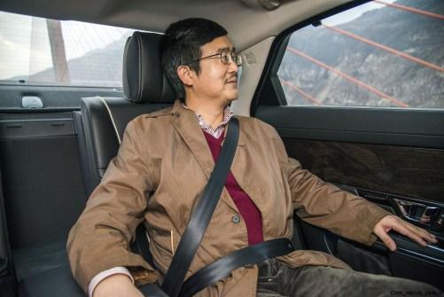 2016 Jaguar XJ Skyroad Paxi Expressway China 35