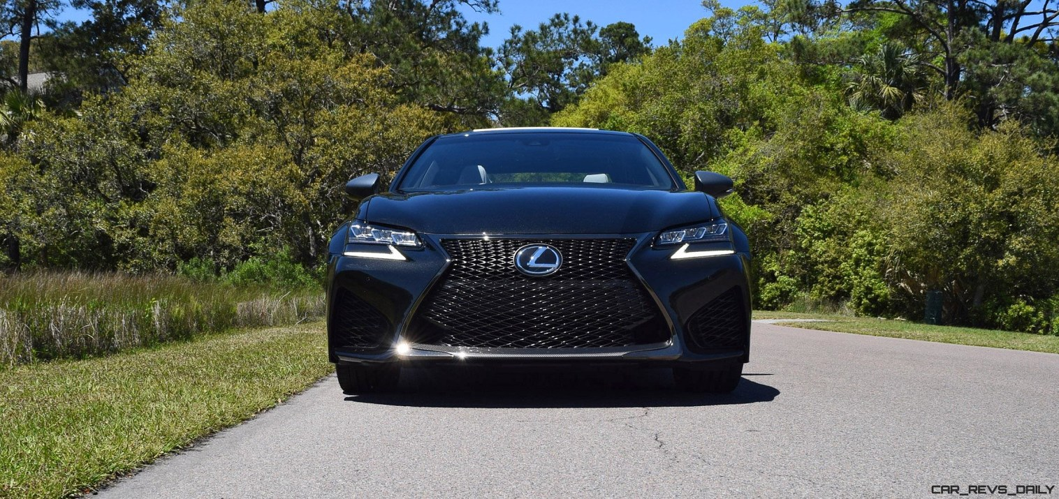 2016 Lexus GS-F Caviar Black 13