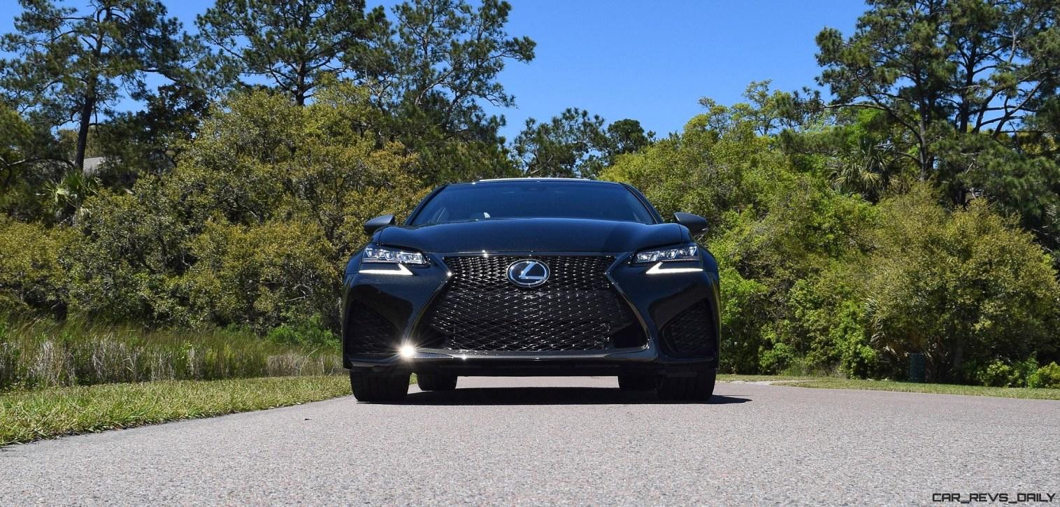 2016 Lexus GS-F Caviar Black 26