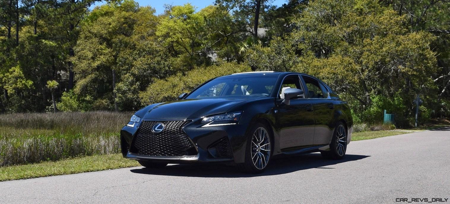 2016 Lexus GS-F Caviar Black 29
