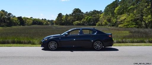 2016 Lexus GS-F Caviar Black 34