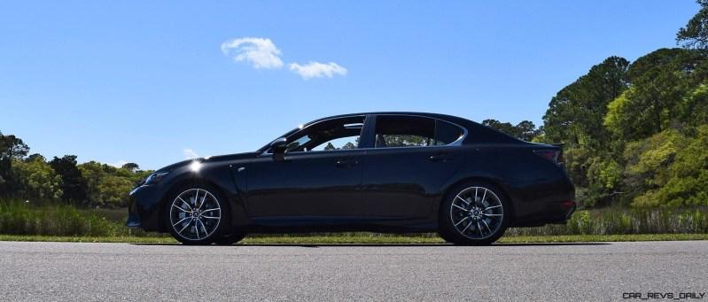 2016 Lexus GS-F Caviar Black 35