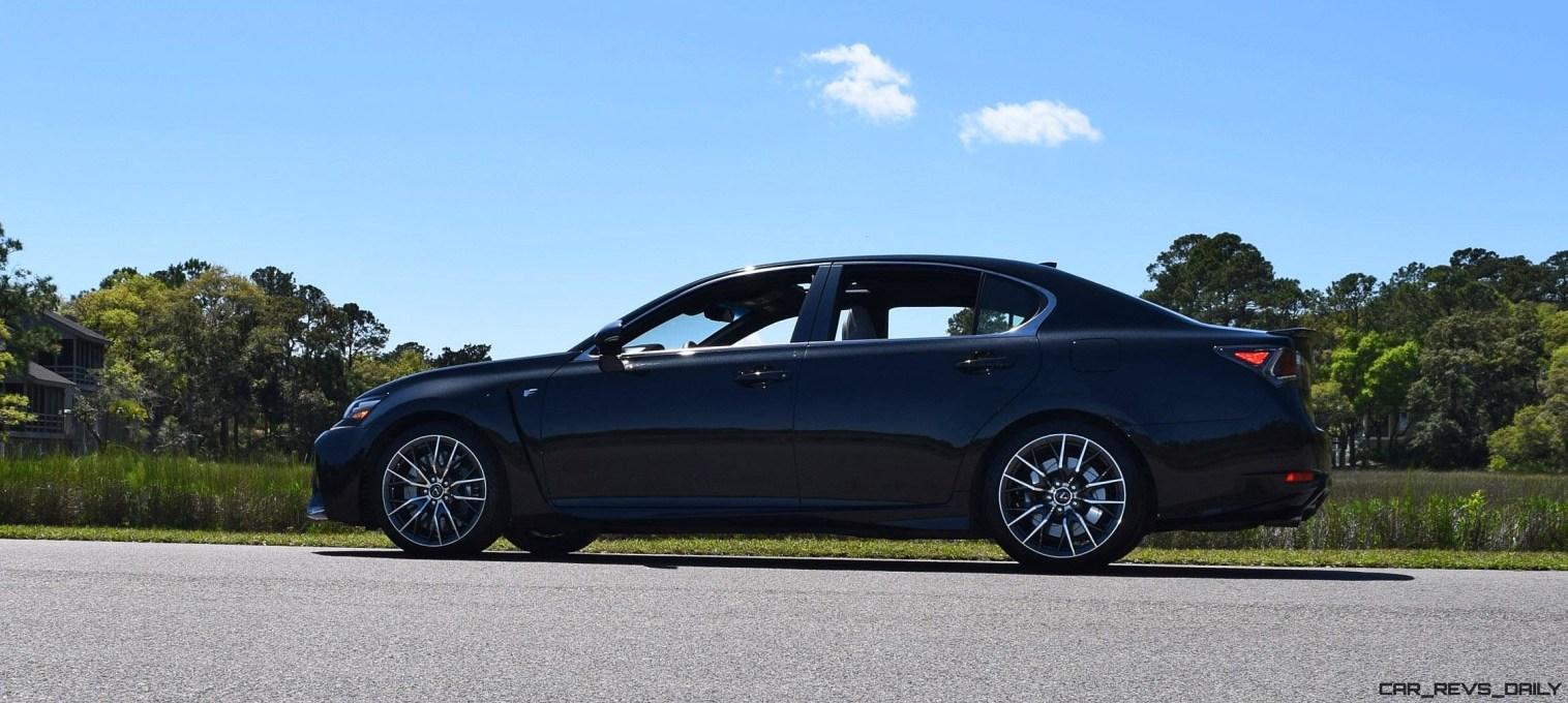 2016 Lexus GS-F Caviar Black 37