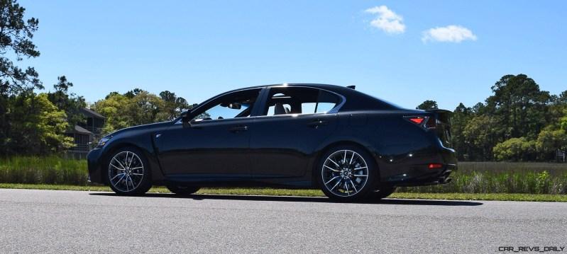 2016 Lexus GS-F Caviar Black 38