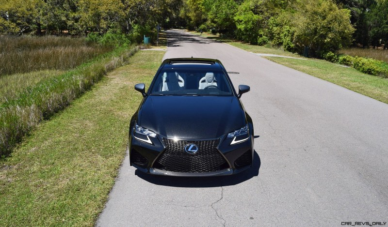 2016 Lexus GS-F Caviar Black 4