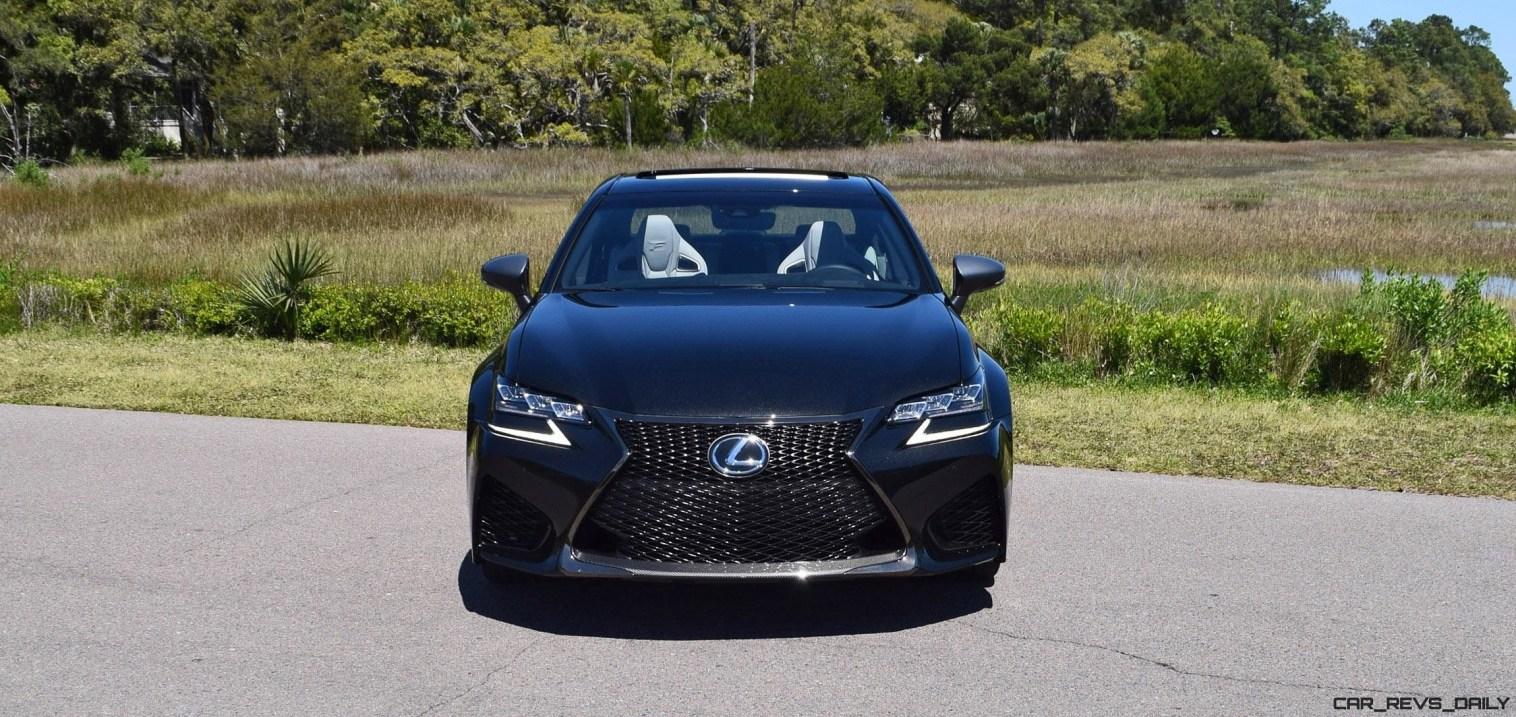 2016 Lexus GS-F Caviar Black 43