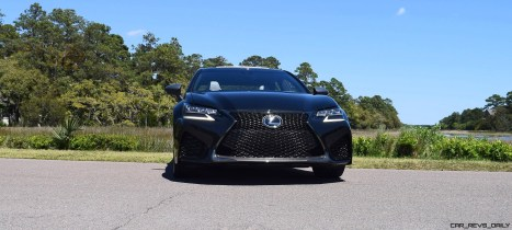 2016 Lexus GS-F Caviar Black 45