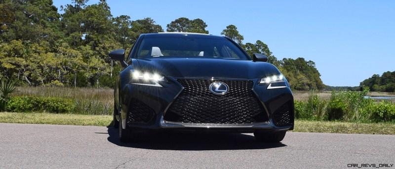 2016 Lexus GS-F Caviar Black 49