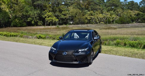 2016 Lexus GS-F Caviar Black 57