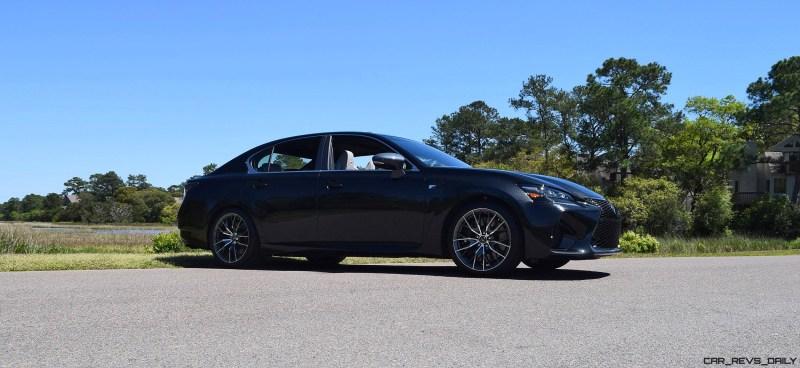 2016 Lexus GS-F Caviar Black 60