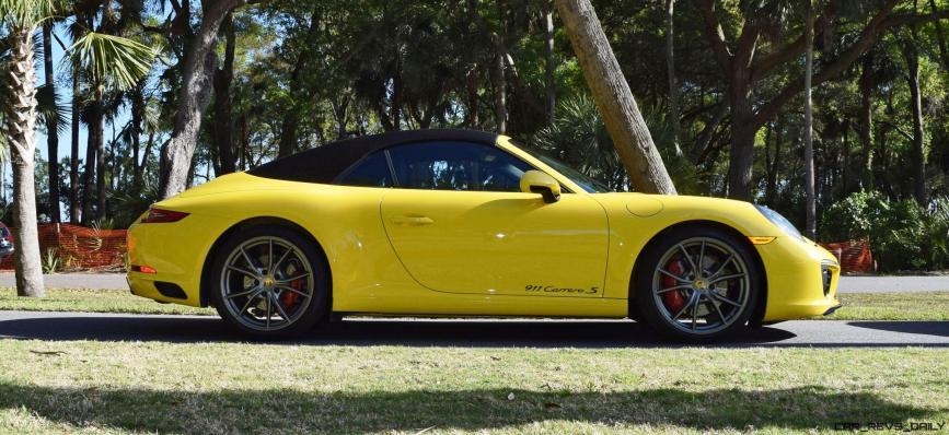 2017 Porsche 911 Carrera S – RACE YELLOW 2