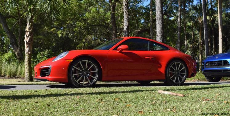 2017 Porsche 911 Guard Red 9