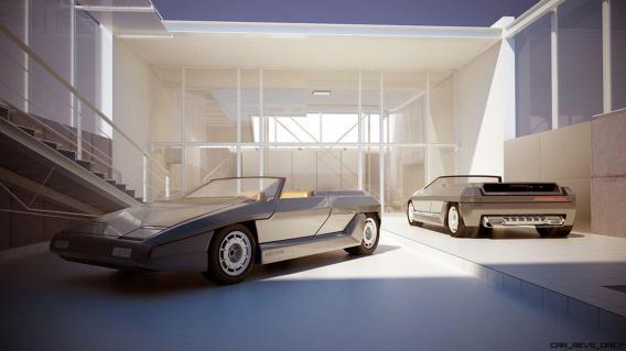 Concept Debrief - 1980 Lamborghini ATHON Speedster by Bertone 11