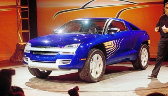 Concept Flashback - 2001 Chevrolet BORREGO Concept 12