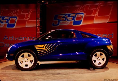 Concept Flashback - 2001 Chevrolet BORREGO Concept 14