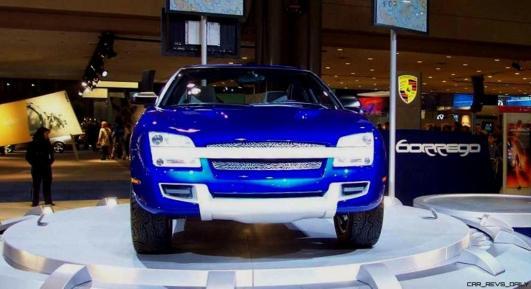 Concept Flashback - 2001 Chevrolet BORREGO Concept 17