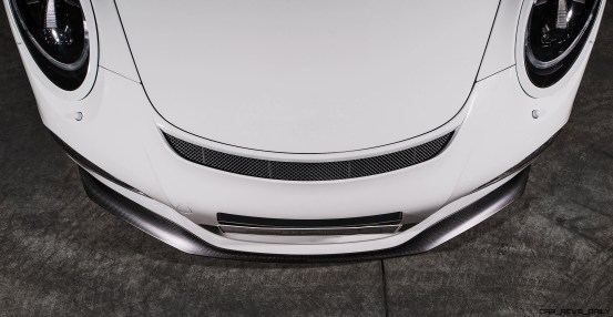 TECHART Carbon Sport Package for the 911 GT3 RS 3