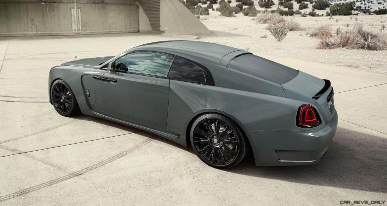 2016 SPOFEC Rolls Royce Wraith OVERDOSE 26