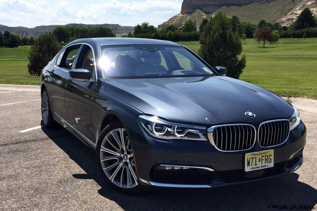 2016 BMW 750i Exterior 8
