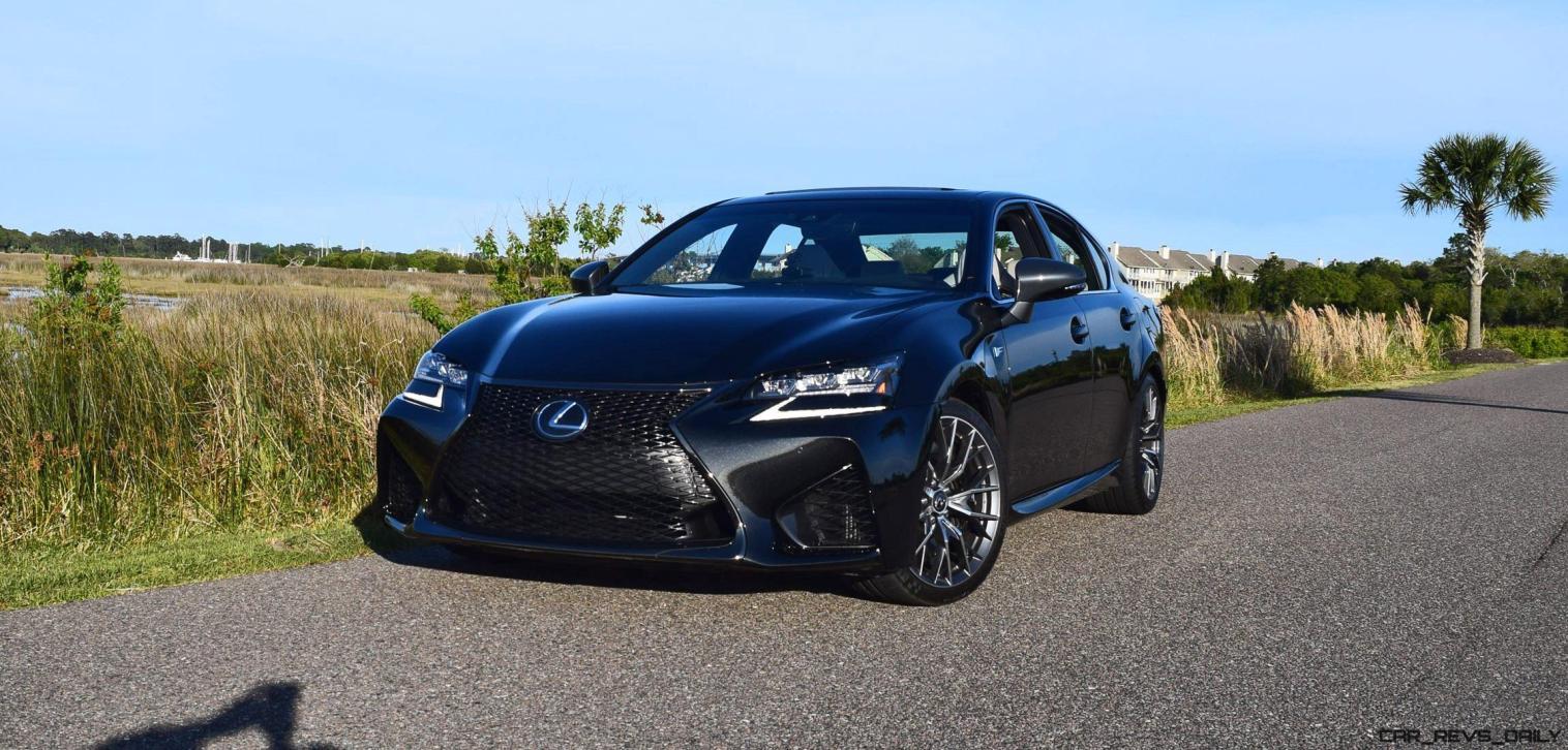 2016 Lexus GS-F Tom Burkart 2