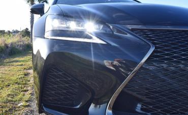 2016 Lexus GS-F Tom Burkart 48