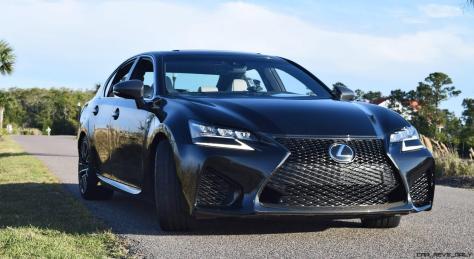 2016 Lexus GS-F Tom Burkart 8