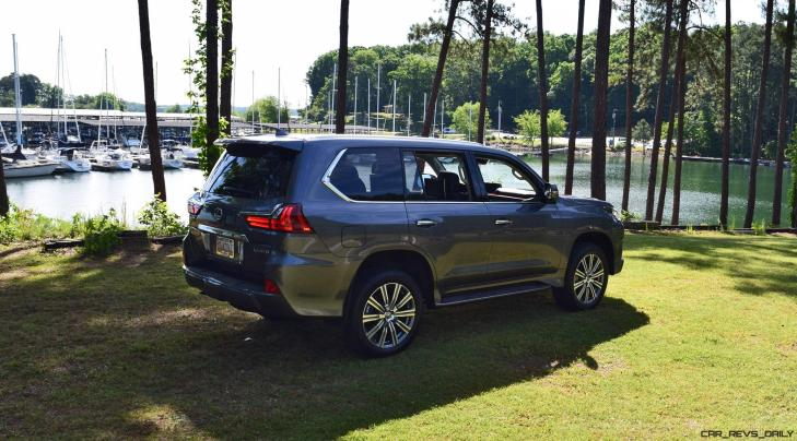 2016 Lexus LX570 - Exterior Photos 61