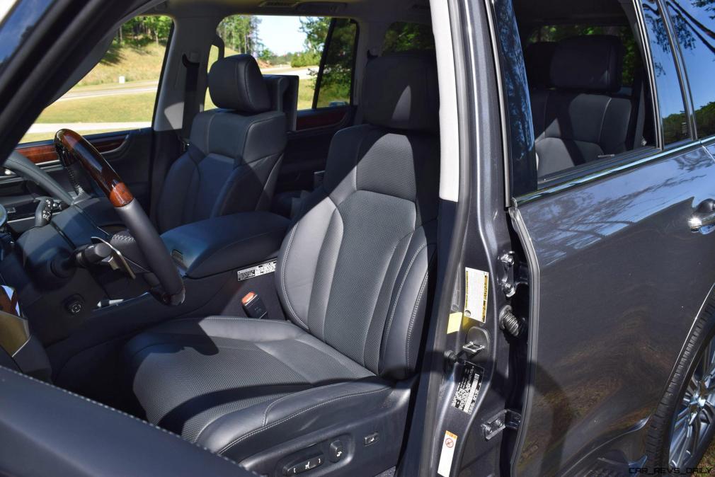2016 Lexus LX570 Interior Photos 5