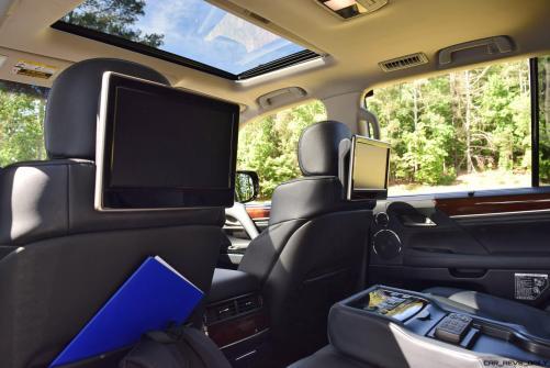 2016 Lexus LX570 Interior Photos 8