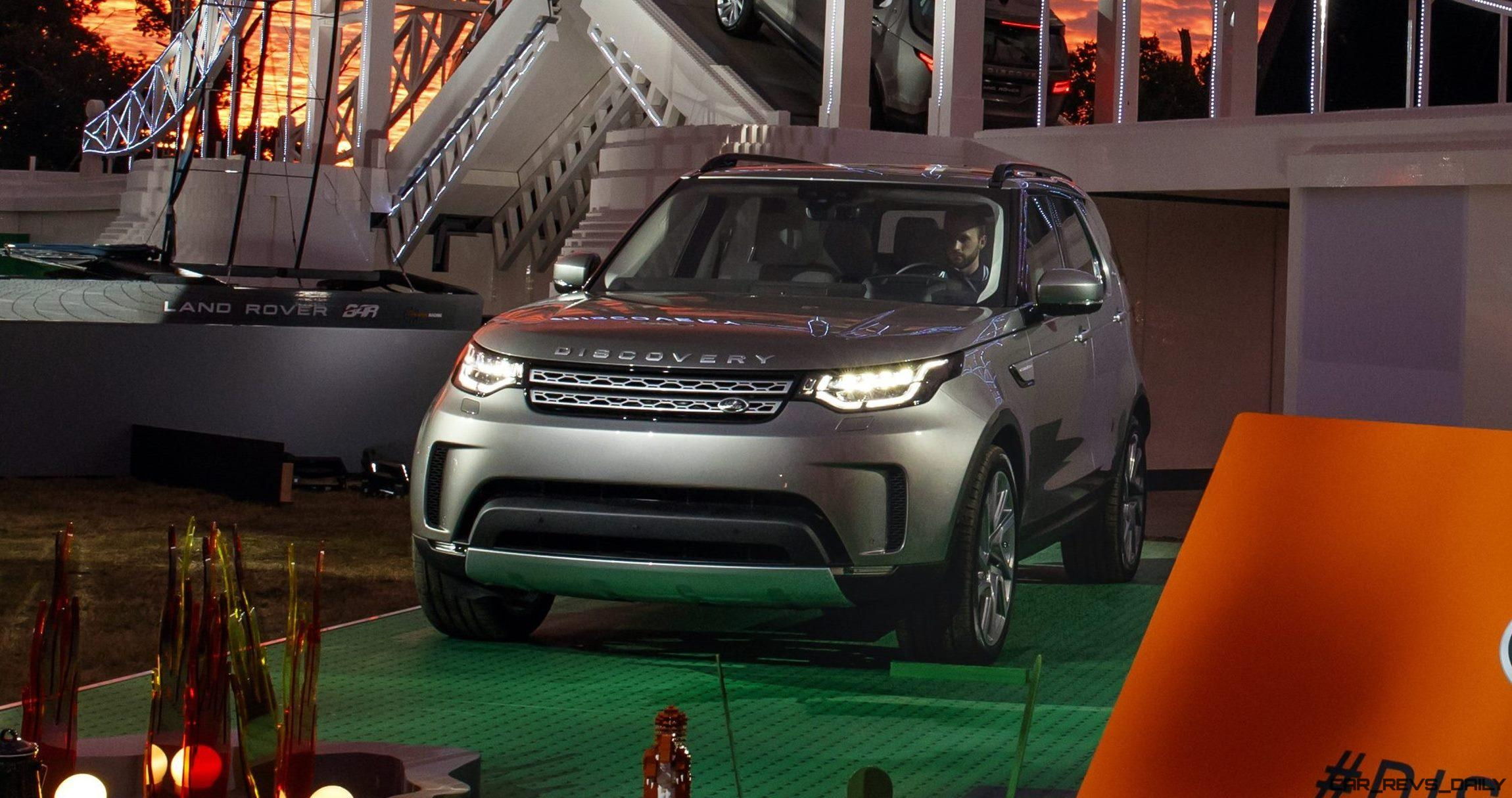 Land Rover Unveils All New 2018 Discovery