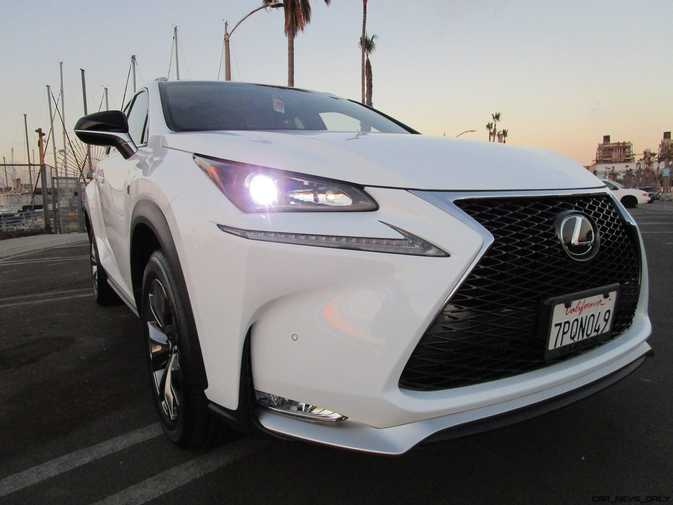 2016 Lexus NX200t F SPORT AWD Road Test Review By Ben Lewis