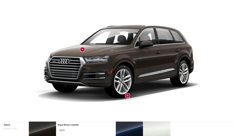 2017 Audi Q7 Colors, Wheels and Interiors 10