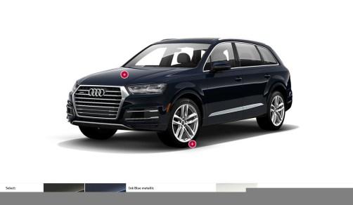 2017 Audi Q7 Colors, Wheels and Interiors 11