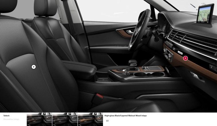 2017 Audi Q7 Colors, Wheels and Interiors 17