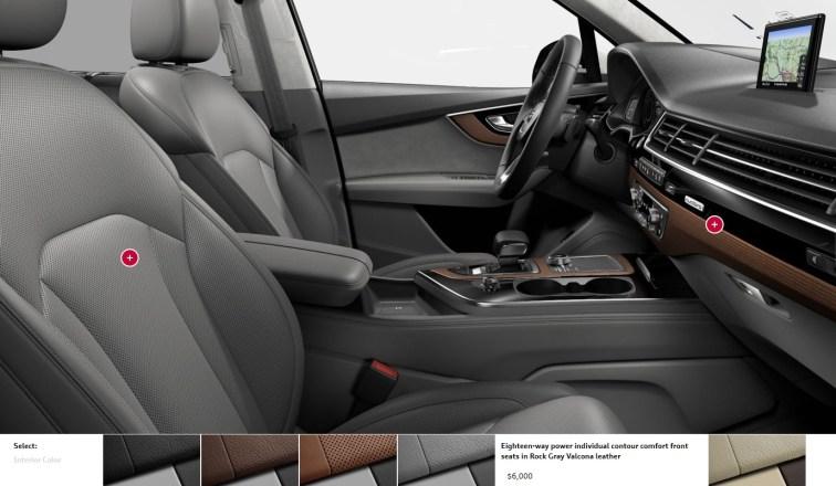2017 Audi Q7 Colors, Wheels and Interiors 21