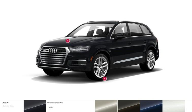 2017 Audi Q7 Colors, Wheels and Interiors 8