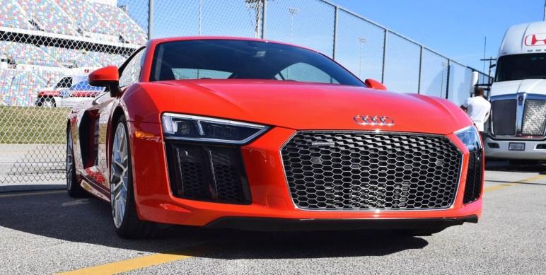 2017 Audi R8 V10 Dynamite Red 26