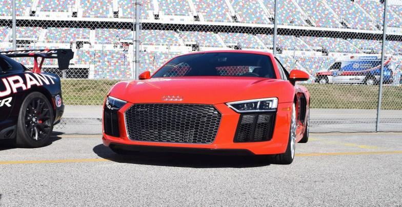2017 Audi R8 V10 Dynamite Red 33