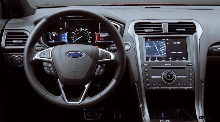 2017 Ford Fusion V6 Sport - Video Stills 17