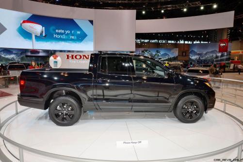 2017 Honda Ridgeline 4