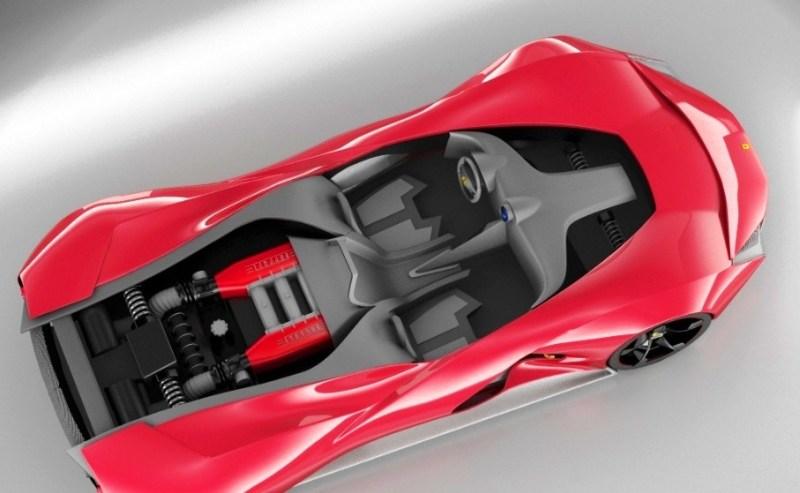 2017 Maserati MC12 Possibly Based on LaFerrari Aliante Spyder by Turin Design Students 11
