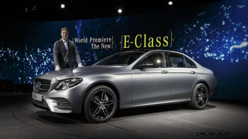 Mercedes-Benz New Year´s Reception and World Premiere of The new E-Class, Detroit 2016