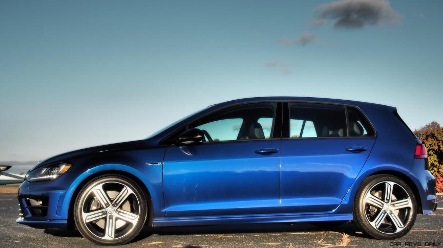 2016 VW Golf R Lapiz Blue by Lyndon Johnson 3
