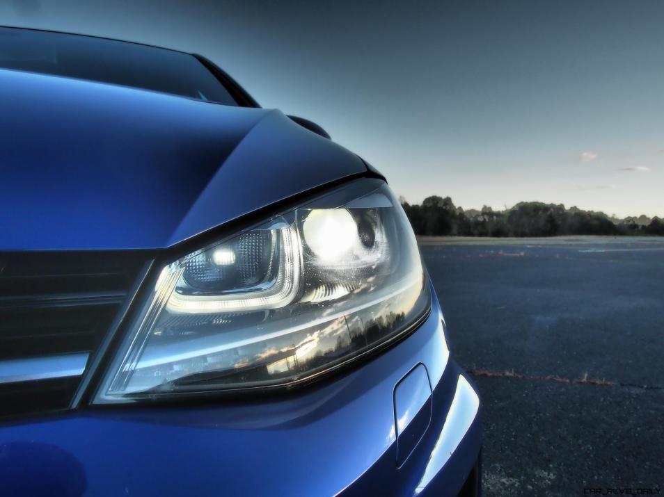 2016 VW Golf R Lapiz Blue by Lyndon Johnson 30